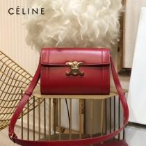CELINE 賽琳 195263-04 原單 TRIOMPHE 牛皮革飾帶包