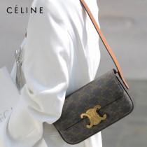 CELINE 賽琳 194143-01   Triomphe Shoulder Bag 最新款凱旋門腋下包肩背包