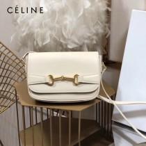 CELINE 賽琳 194143-2 CRECY 中號緞面牛皮革手袋
