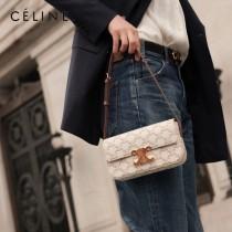 CELINE 賽琳 194143-02   Triomphe Shoulder Bag 最新款凱旋門腋下包肩背包