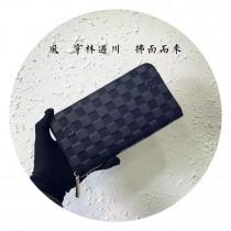 N61729 原版皮雙拉鏈錢包
