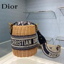 Dior迪奧原單 新款 Dior Wicker 水桶包