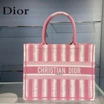 Dior迪奧-02  條紋Book Tote 小號手袋購物袋