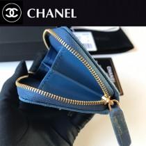Chanel  AP1650-04  香奈兒新款原單品質小拉鏈菱格零錢包