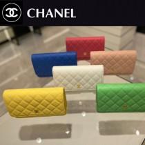 CHANEL-03  香奈兒新款原版皮新版吸扣版發財包WOC鏈條包