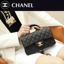 CHANEL-03  香奈兒新款手柄系列CF手提包口蓋包