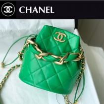 Chanel AS2390-03  香奈兒新款小號福袋抽繩水桶包