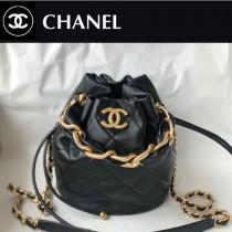 Chanel AS2390-05  香奈兒新款小號福袋抽繩水桶包