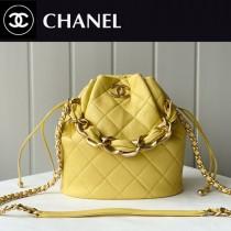 Chanel  AS2391-02  香奈兒新款福袋抽繩水桶包
