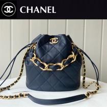 Chanel  AS2391-04  香奈兒新款福袋抽繩水桶包