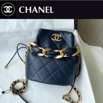 Chanel AS2390-02  香奈兒新款小號福袋抽繩水桶包