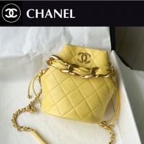 Chanel AS2390-04  香奈兒新款小號福袋抽繩水桶包