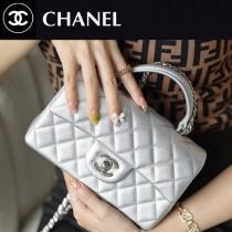 CHANEL-02  香奈兒新款手柄系列CF手提包口蓋包