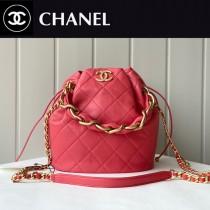 Chanel  AS2391-05  香奈兒新款福袋抽繩水桶包