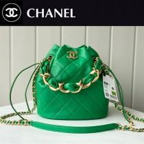 Chanel  AS2391-03  香奈兒新款福袋抽繩水桶包