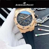 AP愛彼 經典多功能搭載六針設計皇家橡樹系列手表