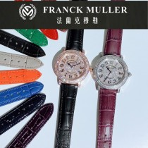 FM法拉克穆勒 FRANCK MULLER 圓形系列滿天星時尚腕表