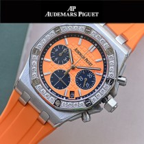 AP愛彼皇家橡樹離岸型系列石英VK67女士計時腕表