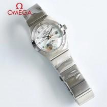 歐米茄omega情侶表雙鷹星座系列 訂製8500機芯特別設計