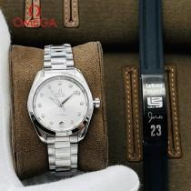 歐米茄-01  OMEGA海馬系列原單女神腕表