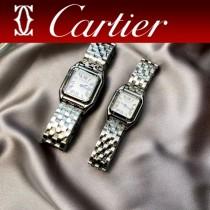 卡地亞CARTIER原單獵豹PANTHERE DE系列瑞士石英方形手表