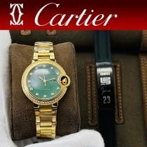 卡地亞 藍氣球女款鑲鉆款腕表
