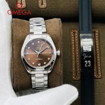 歐米茄-02  OMEGA海馬系列原單女神腕表