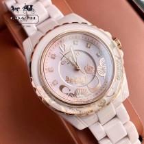 COACH蔻馳PRESTON系列陶瓷表帶原單石英女士腕表