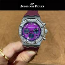 AP愛彼皇家橡樹系列進口日本多功能石英機芯女錶