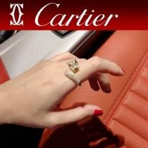 Cartier 卡地亞豹子戒指 祖母綠寶石戒指卡地亞經典傑作,經久不衰傳奇經典