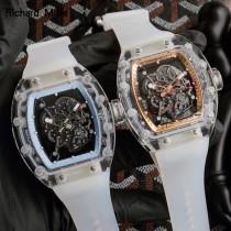理查德米勒RM35-02原單 玻璃透明系列 創新之作 全玻璃材質殼套