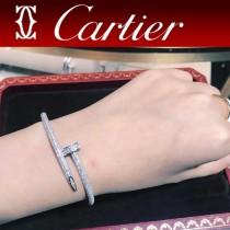 卡地亞釘子手鐲360度滿鉆包圍雙層 滿鉆 釘子 手鐲 系列  Au 750 18K金工藝 進口獨特亞金材質
