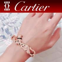 卡地亞霸氣豹紋滿鉆手鏈 Panthere de Cartier豹手鏈 亞金材質男女都可佩戴