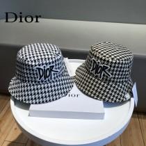 DIOR迪奧  新款雙面漁夫帽