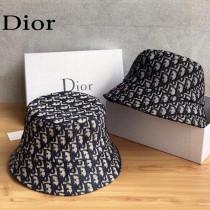 迪奧Dior官網最新滿印迪奧logo漁夫帽
