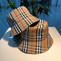 Burberry博柏利,官網一比一對齊條紋版本漁夫帽