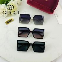 Gucci聯名系列限量版經典的方框設計太陽鏡墨鏡