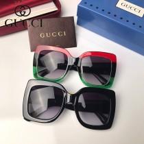 Gucci古奇大框女士偏光太陽鏡TR90鏡框