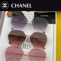 型號:CH366 CHANEL 香奈兒時尚無框太陽鏡鏡片