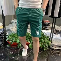 夏季短褲男韓版修身潮流男裝5五分褲印花時尚男士大碼速幹彈短褲