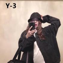 Y-3 山本耀司  新款漁夫帽、黑、白、藍,春夏款 潮流 時尚男女款盆帽,透氣性超好