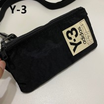 山本耀司Y-3 x Adidas聯名款 掛脖斜挎 卡包 手機包 收納包 雙格層  調肩帶