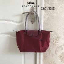 龍驤longchamp70周年限量版中號長柄購物袋  原廠包裝