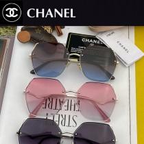 型號:C388 CHANEL 香奈兒時尚無框搭配偏光鏡片