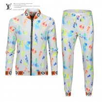 LV 彩色夾克套裝