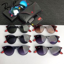 RAYBAN 雷朋 RB4296 新品超輕材質復古圓款男女通用太陽鏡