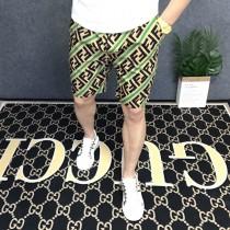 歐洲街新款男士透氣短褲五分褲夏季韓版修身直筒中褲潮牌薄款馬褲