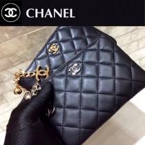 625-04 CHANEL香奈兒原單升級版進口羊皮卡包 零錢包