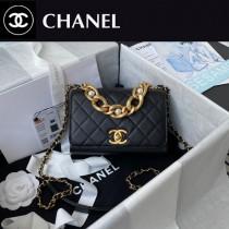AS2638 Chanel香奈兒新款原版皮口蓋包