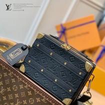 M57971  黑原單 LVxNBA Handle Trunk手袋盒子包